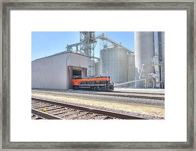 Industrial Switcher 5405 Framed Print