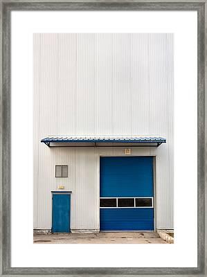 Industrial Unit Framed Print by Boyan Dimitrov