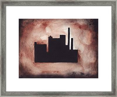 Industry City Framed Print
