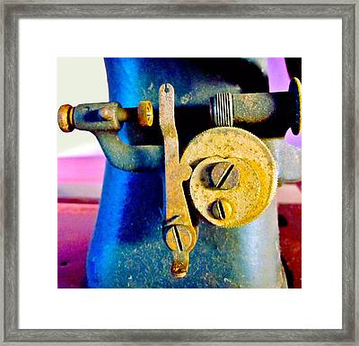 Industry In Color Framed Print by Gwyn Newcombe