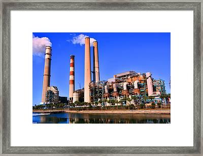 Industry Framed Print by Lisa Wooten