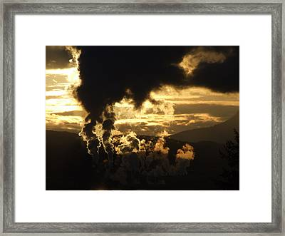 Industry Framed Print by Mark Alan Perry