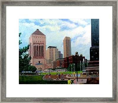 Indy Festival Framed Print by Stan Hamilton