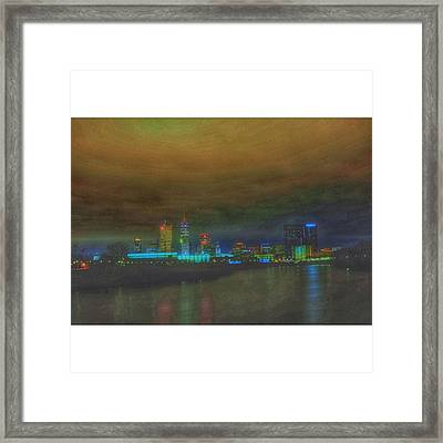 #indy #indiana #indianapolis #naptown Framed Print