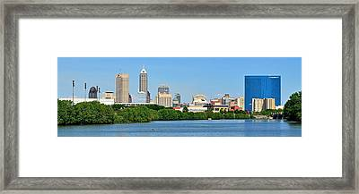 Indy Panoramic Framed Print by Frozen in Time Fine Art Photography