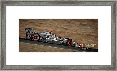 Indycar 2015 Framed Print by Webb Canepa