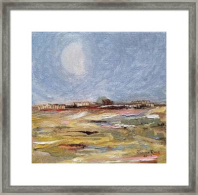 Framed Print featuring the painting Inevitable Epoch by Judith Rhue
