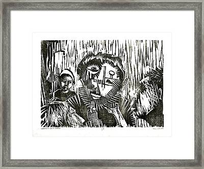 Infamous Blue Period  Framed Print by Paul  Van Atta