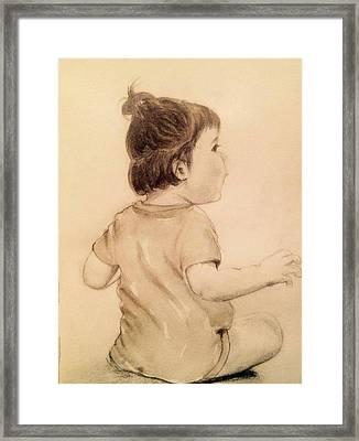 Infant  Framed Print