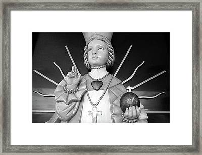 Framed Print featuring the photograph Infant Of Prague by Jeanette O'Toole