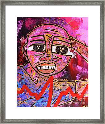 Infatuated Freddy Framed Print