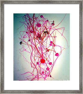 Infectious Ideas Framed Print