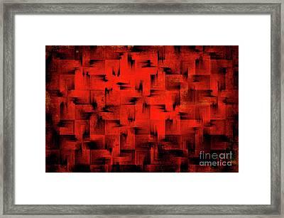 Inferno Framed Print by Silvia Ganora