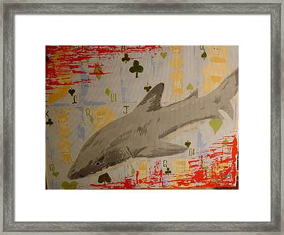 Infested Game Framed Print by Raymond Nash
