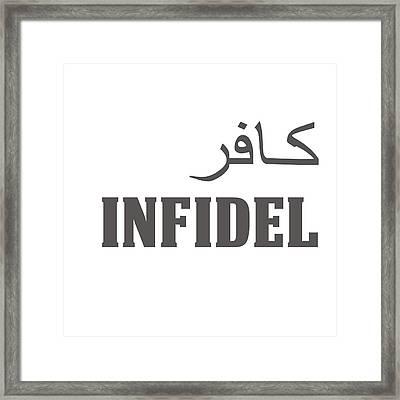 Infidel Framed Print by Linda Bissett
