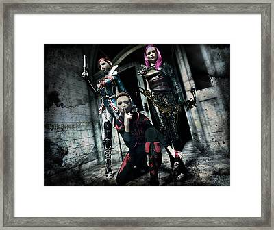 Infiltration Framed Print