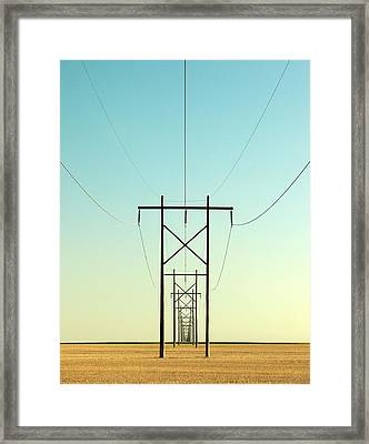 Infinite Conductivity Framed Print