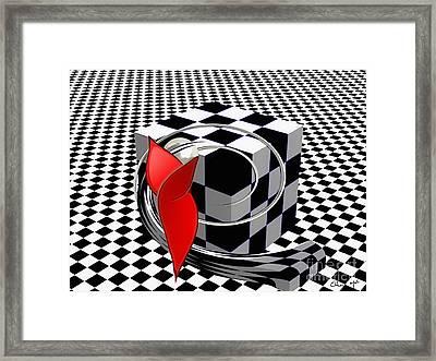 Infinite Framed Print by Eleni Mac Synodinos