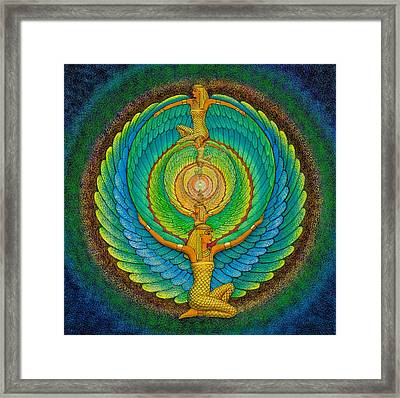 Infinite Isis Framed Print by Sue Halstenberg