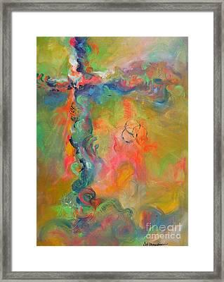 Infinite Light Framed Print by Deb Magelssen