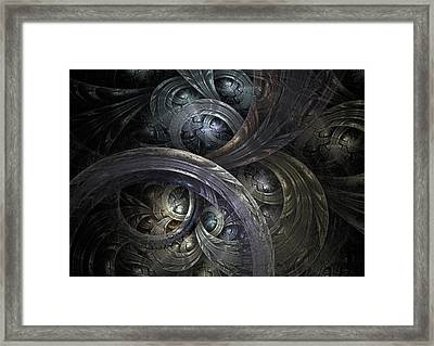 Infinite On-ramps Framed Print by David April