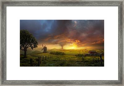 Infinite Oz Framed Print