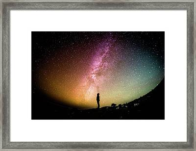 Infinite Possibilities Framed Print by Happy Home Artistry