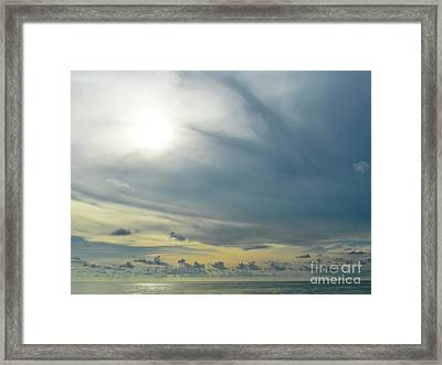 Infinite Sky  Framed Print