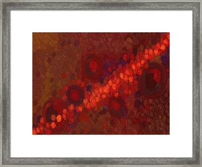 Infinite Spiral Framed Print by Tim Stringer
