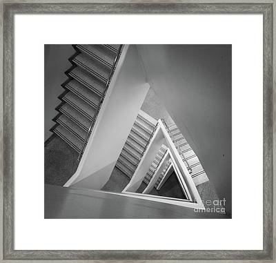 Infinite Stairs Framed Print