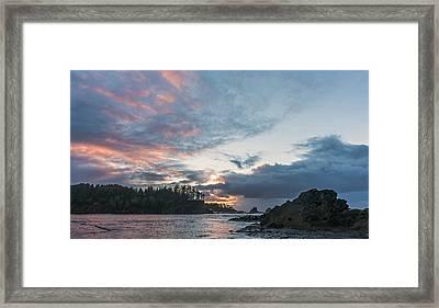 Infinite Sunset Framed Print