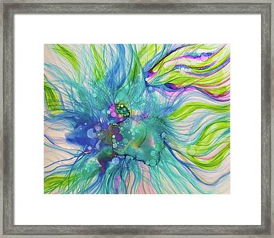 Infinite Unknowns Framed Print