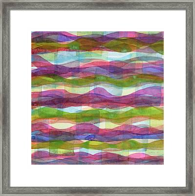 Infinite Waves Framed Print