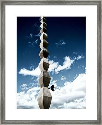 Infinity Away Framed Print by Mioara Andritoiu