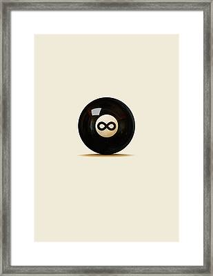 Infinity Ball Framed Print by Nicholas Ely