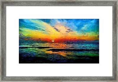 Infinity Beauty - Da Framed Print by Leonardo Digenio