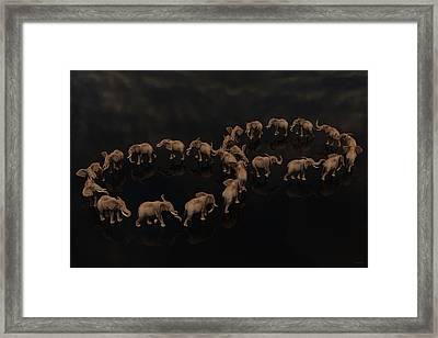 Infinity  Framed Print by Betsy Knapp