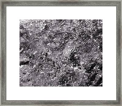 Infinity Bw Framed Print by Sami Tiainen