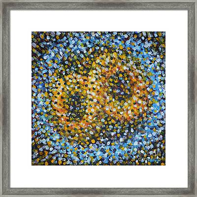 Infinity Confined Framed Print