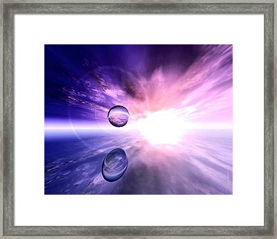 Infinity Framed Print by Dreamlight  Creations