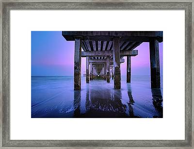 Infinity Framed Print by Edgars Erglis
