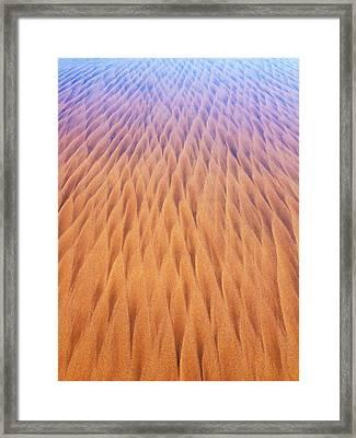Infinity Framed Print by Emma Dunlavey