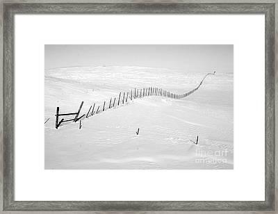 Infinity Framed Print by Julie Lueders
