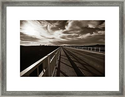 Framed Print featuring the photograph Infinity by Marilyn Hunt