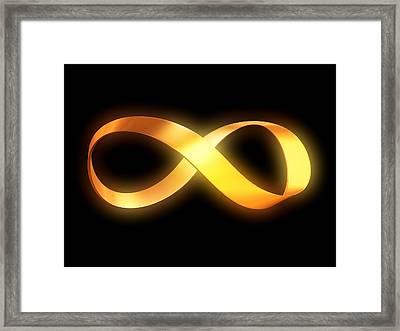 Infinity Framed Print by Pasieka