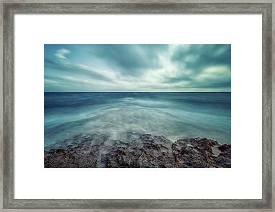 Infinity Sea Framed Print