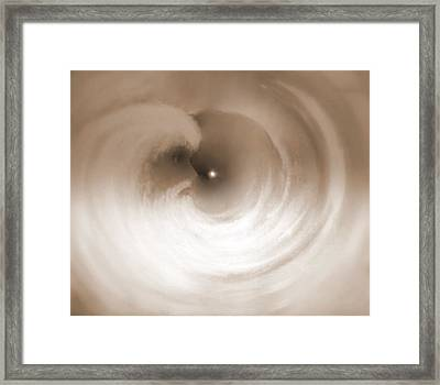 Framed Print featuring the painting Infinity by Sherri  Of Palm Springs