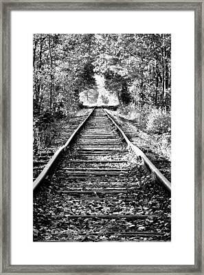 Infinity Train Framed Print