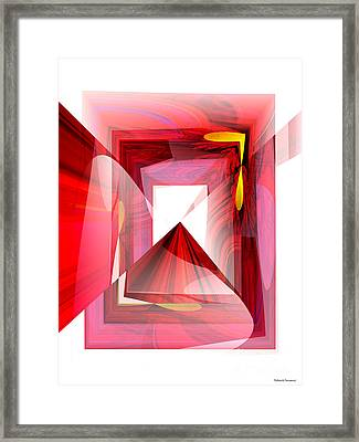 Infinity Tunnel  Framed Print