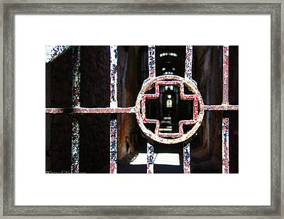 Infirmary Wing At Eastern State Penitentiary Framed Print